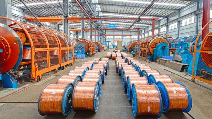 Durable Copper Armored Cable , 8.7/15kv Power Cable Bare Copper Class 2 Conductor