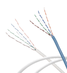 Low Smoke Halogen Free Cable Cat.5e FTP Category 5e Ethernet Lan Cable Solid copper, 4 Pair 1000 ft 305 m pull box