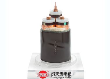 China XLPE Insulated Medium Voltage Power Cables( Unarmoured )Copper Conductor 6-36 kV supplier