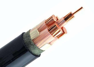 China 0.6/1 KV 4 Core + Earth XLPE Insulated Power Cable Bare Copper Class 2 Conductor factory