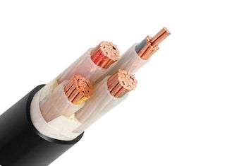 China 0.6/1 KV 3+1/2 Core Copper Cable , LV Power Cable XLPE Insulated/ PVC sheathed electrical cable factory