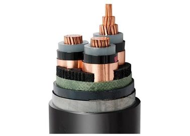 6/ 10 kV XLPE Insulated Steel Tape Armoured 3 core Power Cable For Power Distribution
