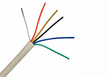 China Flexible Multi Conductor Control Cable , Unshielded Security Alarm Cable factory