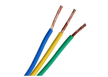 China copper conductor electrical wires and Cables for House wiring up to 750 Volts factory