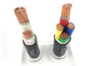 China IEC 60502-1 Unarmoured 2 Core Power Cable , PVC Sheathed Power Cable Cu - Conductor factory