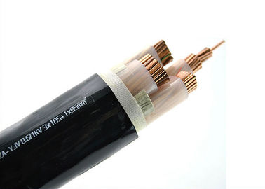 China Fire Resistant Xlpe Power Cable , 2*95 Sq Mm Copper Cable 600 / 1000 V supplier