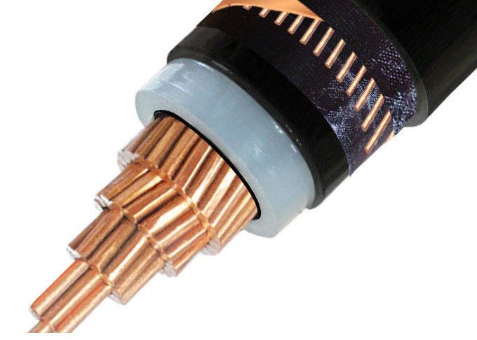 Screened Single Core Medium Voltage Power Cables Pvc