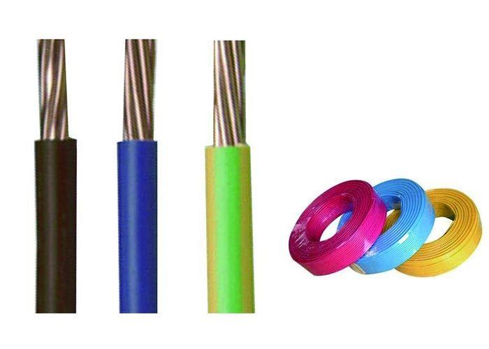 Non Sheathed Copper Building Wire H07V-R / H07V-U 6491x Earth Cable
