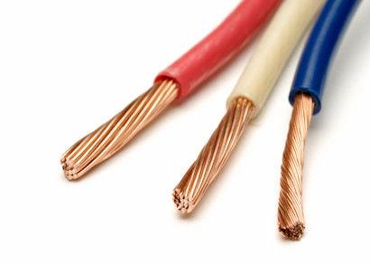 Low Voltage Copper Building Wire PVC Single Core Cable For Conduit ...
