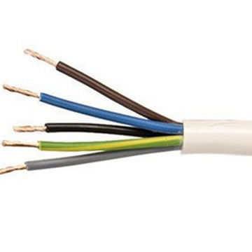 Electrical wire 318-Y / H05VV-F Cable 5×1.5 sq. mm Flexible cable