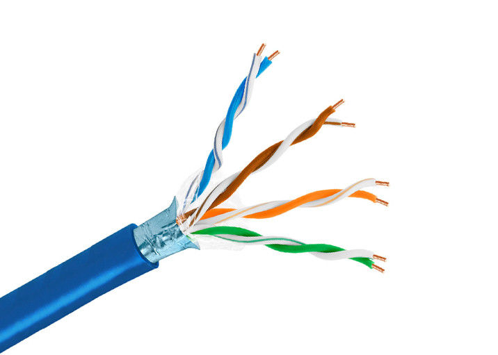 Class 1 Conductor Copper Lan Cable Cat5e Network Cable 12