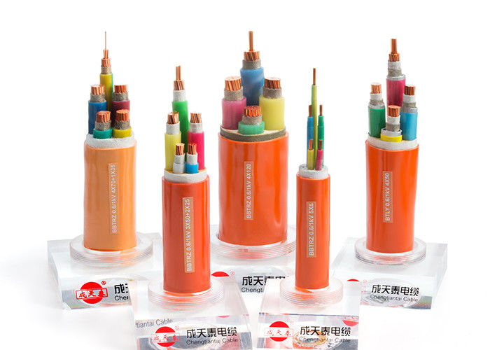 Professional Fire Resistant Armoured Cable Halogen Free Thermoplastic Polyolefin Sheath supplier