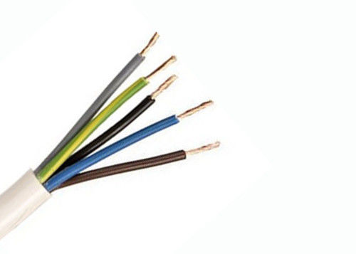 Electric cable 318-Y / H05VV-F Cable 5×2.5 sq. mm Flexible cable, insulation and outer sheath in PVC, domestic use supplier