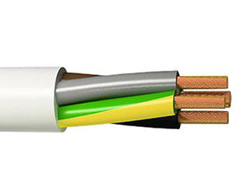 Durable Fine Wire Copper Conductor Cable Surface / Flush Mount Installation supplier