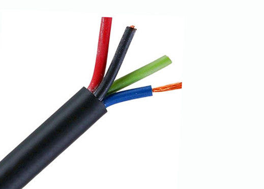 Indoor Use H05VV F Copper Conductor Cable PVC Outer Sheath Austrian Type YMM supplier