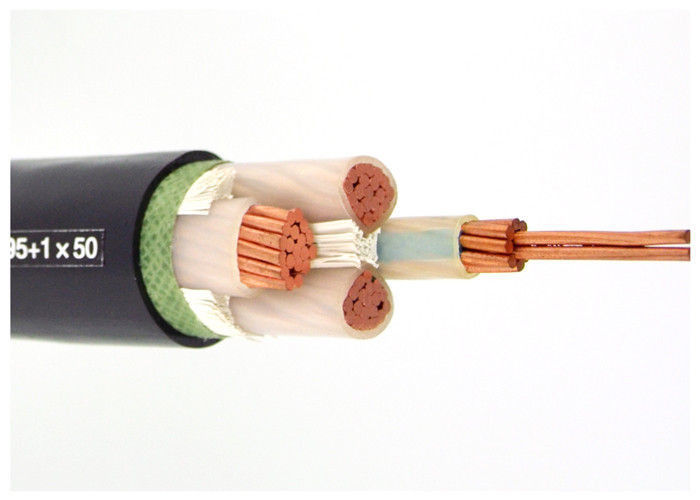 IEC 60502-1 Cables 4 core (Unarmoured) | Cu-Conductor / XLPE Insulated / PVC Sheathed Power Cable supplier