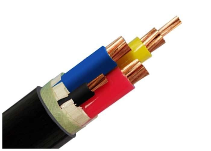 Low Voltage Two Core Armoured Cable , LV Armoured Cable For Switching Stations supplier