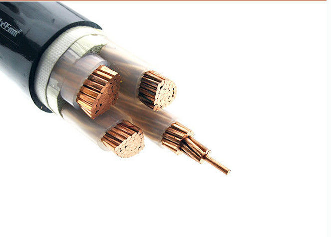 Lightweight XLPE Insulated Power Cable 2*120 Sq Mm Copper Cable For Energy Supply