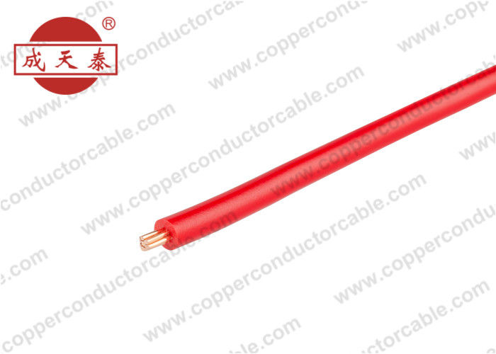 Outdoor Insulated Copper Wire , H07V-U Building Wire And Cable