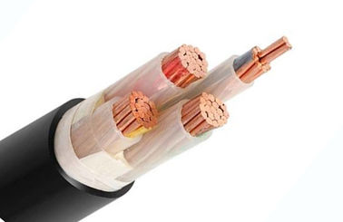0.6/1 KV Low Voltage Power Cable , XLPE Insulated 4 Core Power Cable