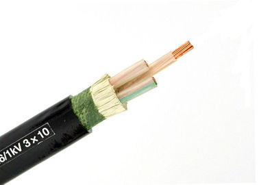 Unarmoured & Armoured XLPE Insulated Power Cable 3 Core Conductor IEC 60502