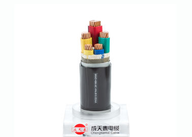 Low Voltage Power Cable 3+2 core 0.6/1 kV Copper Electrical cables PVC Insulation and Sheathed